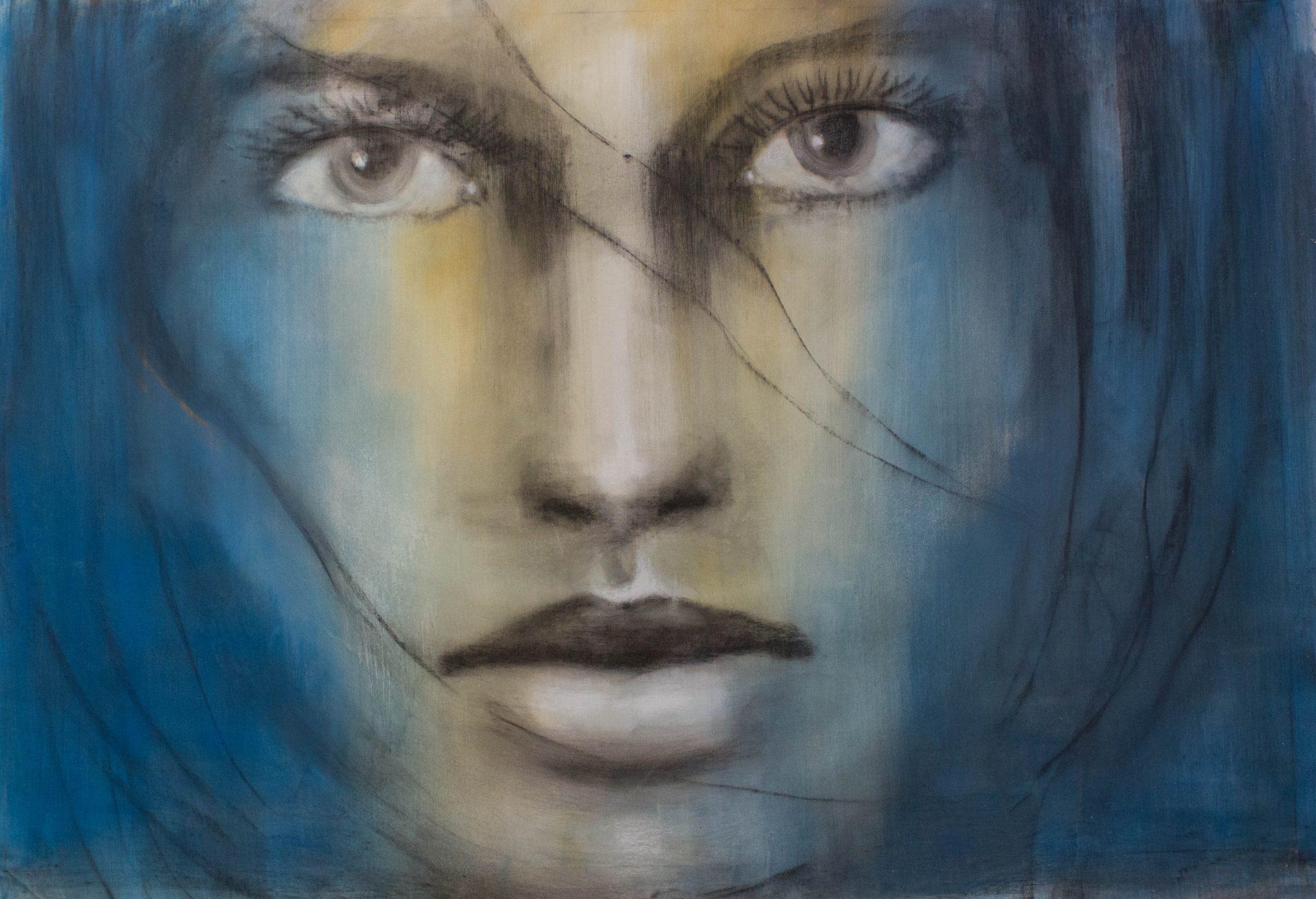André Desjardins Peinture Huile toile