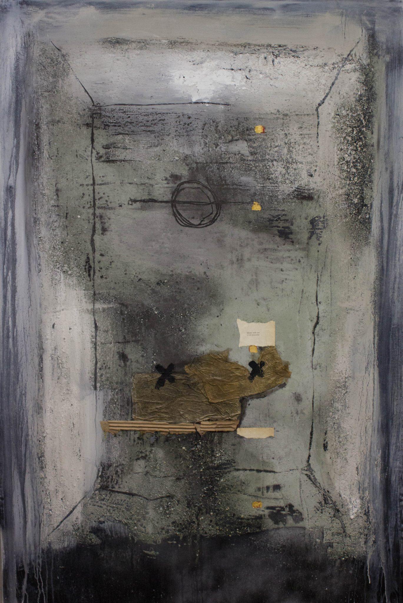 André Desjardins Peinture Techniques mixtes sur toile