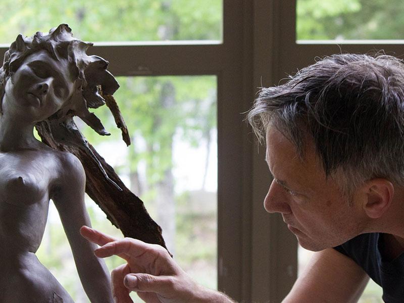 André Desjardins-Sculpture-Création