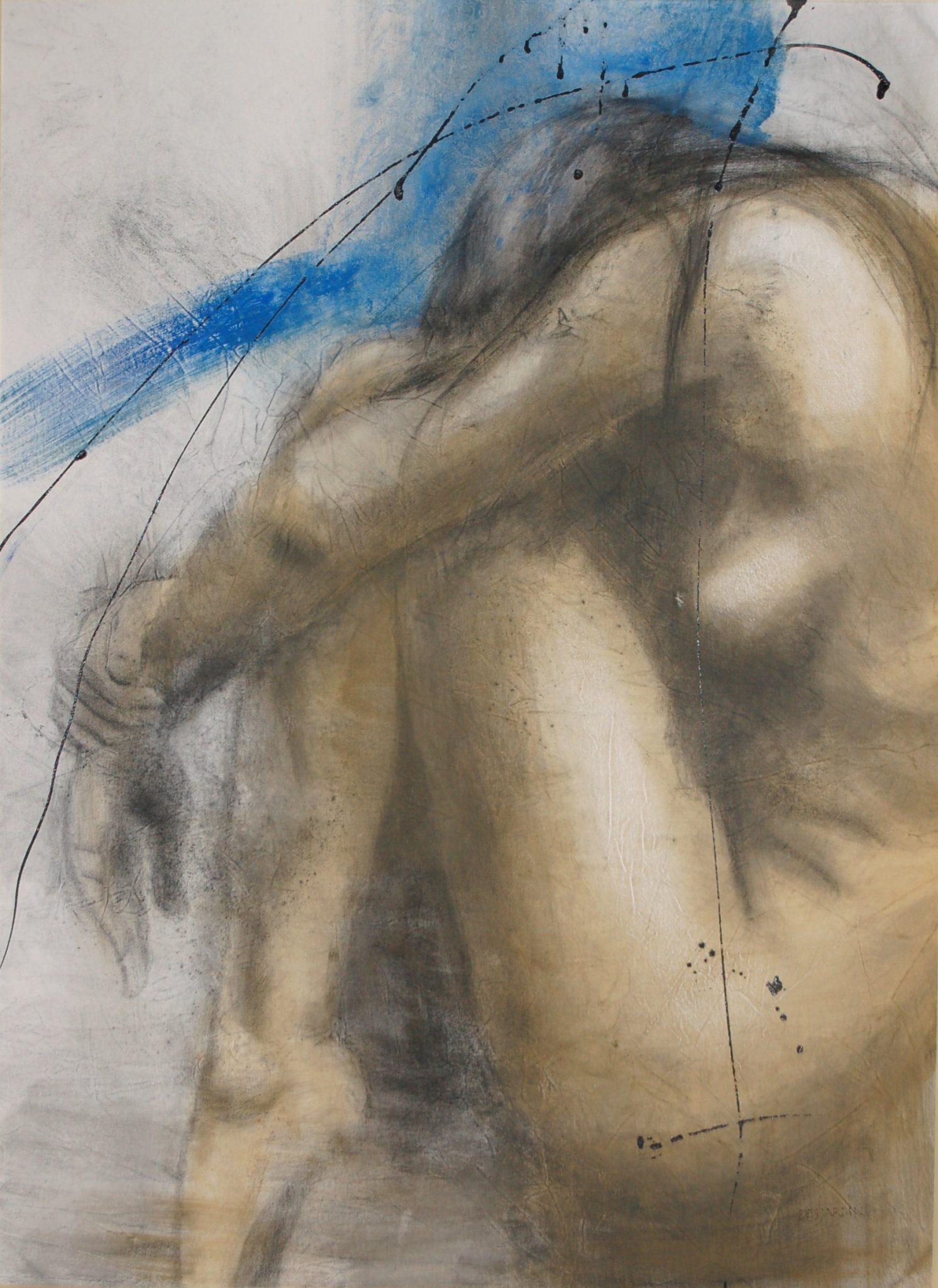 André Desjardins Techniques mixtes sur toile